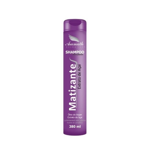 Shampoo Matizador Argan Oil 380ml