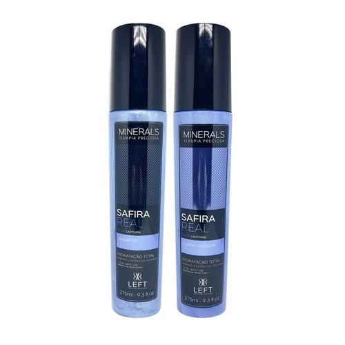 Kit Shampoo + Condicionador Minerals Safira Real 2x275ml Cabelos Secos ou Ressecados