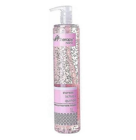 Shampoo Lichia e Quinoa Fruit Therapy Nano 1L Cabelo com Química
