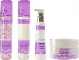 Kit Home Care Lichia + Quinoa Fruit Therapy Nano Left Cosméticos (4 produtos)