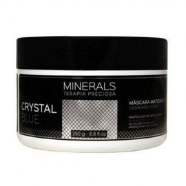 Máscara Matizadora Minerals Crystal Blue 250g