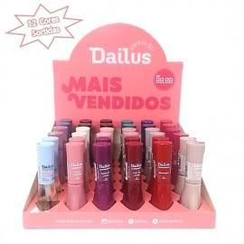 Caixa especial de esmaltes Dailus 12 cores sortidas