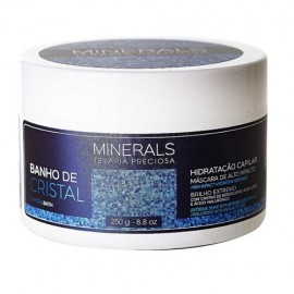 Banho de Cristal Máscara de Hidratação Minerals 250g