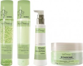 Kit Home Care Lima da Pérsia + Chá Verde Fruit Therapy Nano (4 produtos)