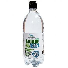 Alcool em GEL 70 Higienizador Mãos Aramath 1 Litro