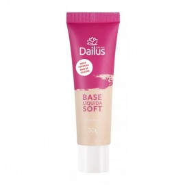 Base Líquida Soft Dailus Color *NOVA FÓRMULA* - 02 Nude