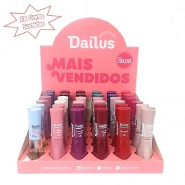Caixa especial de esmaltes Dailus 18 cores sortidas