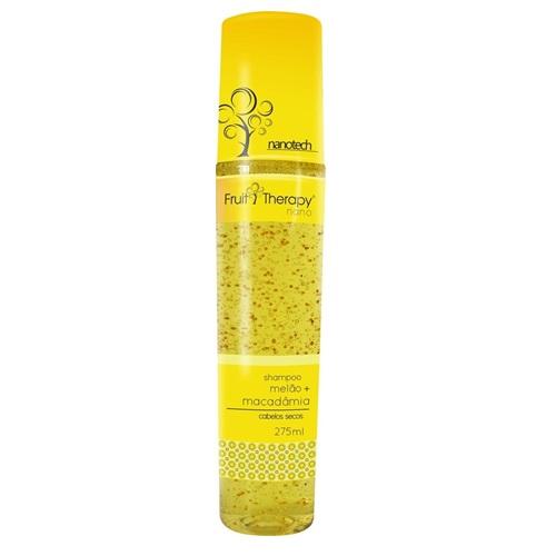 Shampoo Melão + Macadâmia Fruit Therapy Nano 275 ml