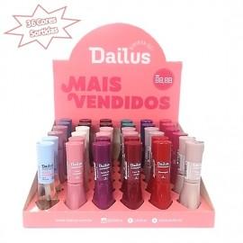 Caixa especial de esmaltes Dailus com 36 cores sortidas